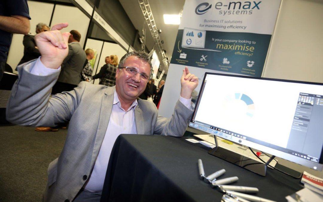 E-MAX URGES FIRMS TO ATTEND OKTOBERFEST