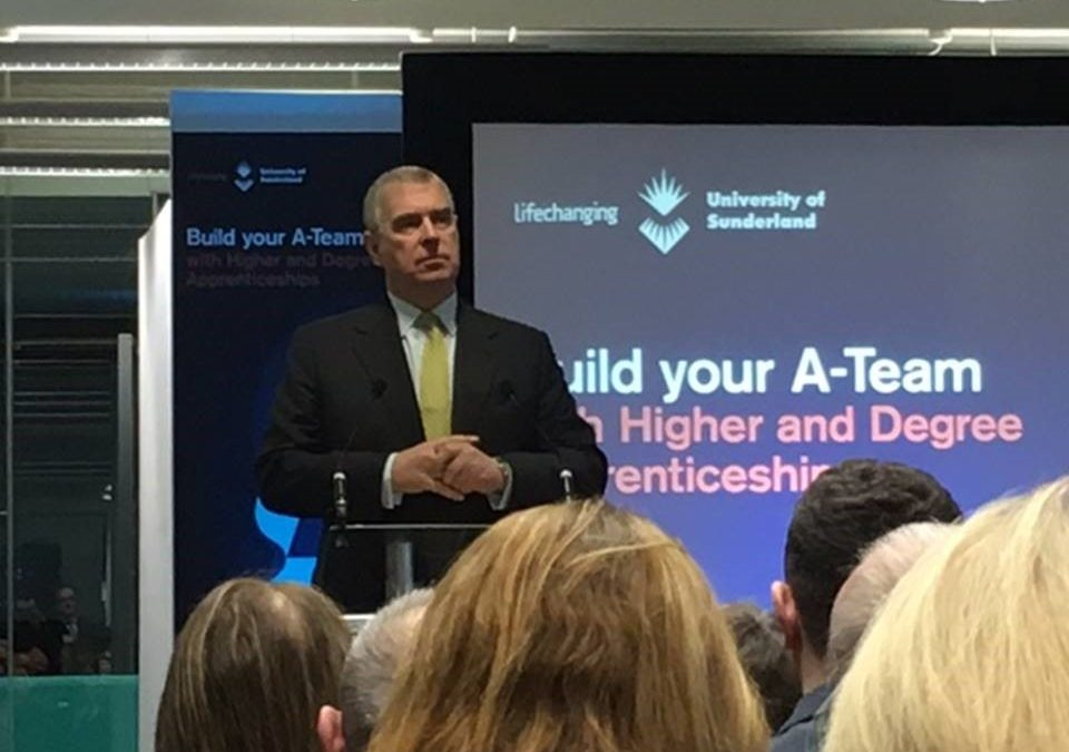 CDEMN AT HRH THE DUKE OF YORK VISIT TO SUNDERLAND