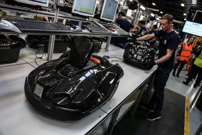 REGION'S MANUFACTURING SECTOR GROWING FASTER THAN ANYWHERE IN UK