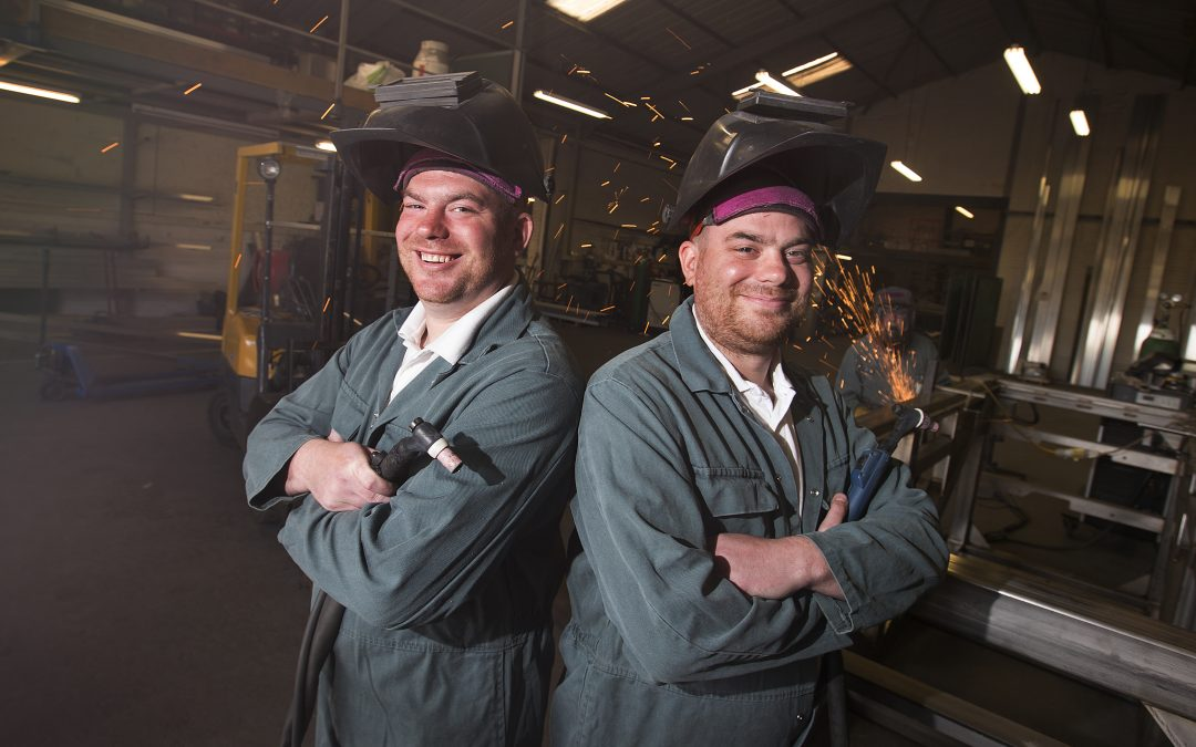 TWINS AT THE HELM OF ENGINEERING COMPANY HIATCO