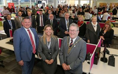 THOUSANDS OF JOBS ON WAY FOR REGION OVER NEXT THREE YEARS