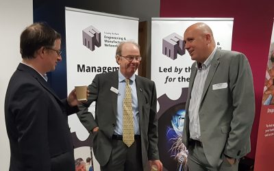 CDEMN EXHIBITS AT FUNDING AND BUSINESS SUPPORT EVENT