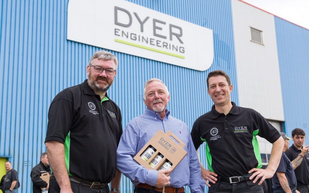 GREAT YEAR FOR DYER AS GROWTH CONTINUES