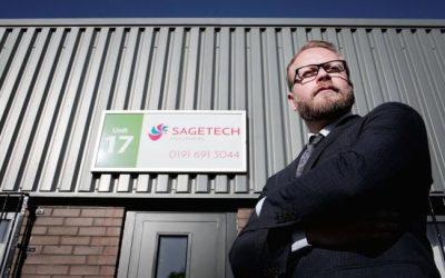 CDEMN MEMBER SAGETECH TARGETS EXPORT MARKET