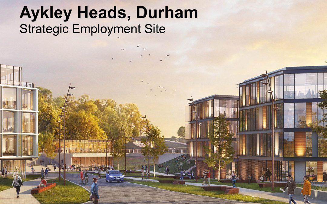 6,000 JOBS FOR COUNTY DURHAM IF NEW BUSINESS DISTRICT IS APPROVED