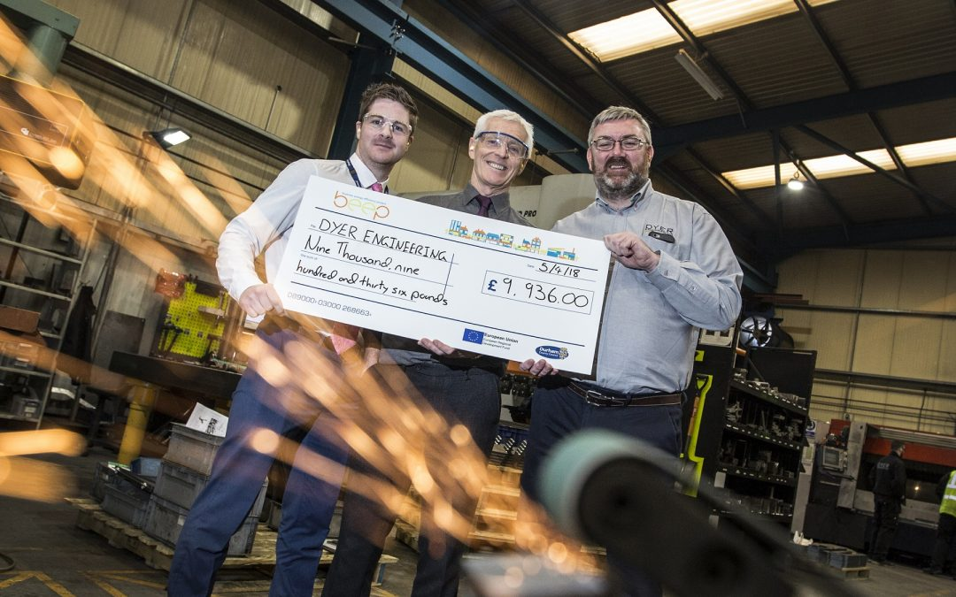 ENGINEERING FIRM LIGHTS UP FUTURE WITH ENERGY GRANT