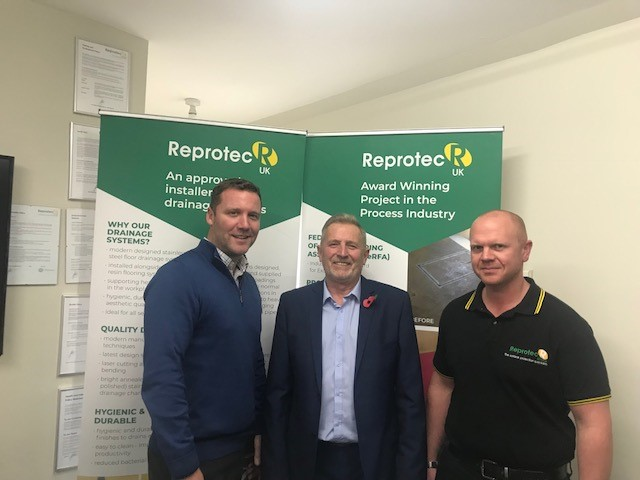 MEMBER NEWS: APPOINTMENTS ANNOUNCED AT REPROTEC