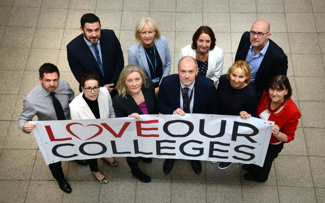 MEMBER NEWS: COLLEGE PRINCIPALS TO MARCH ON PARLIAMENT