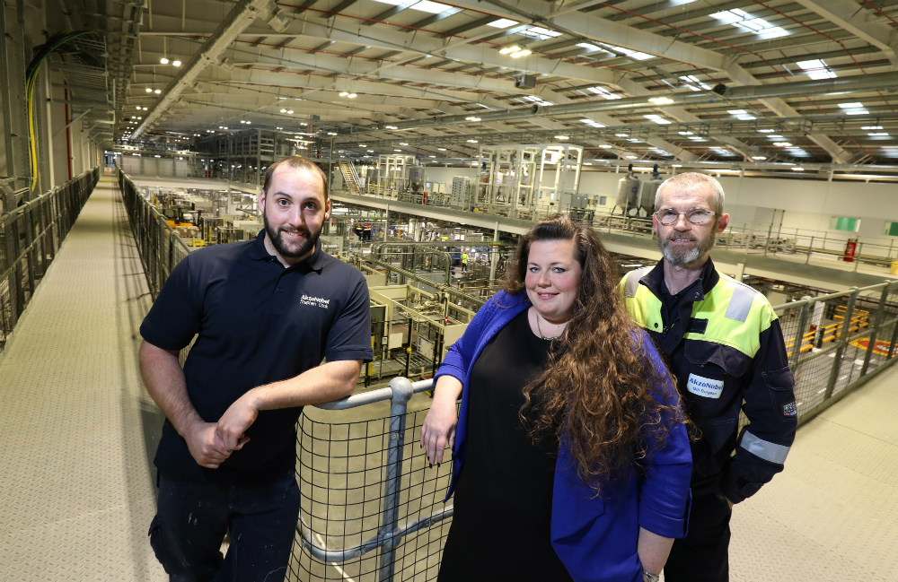 MEMBER NEWS: AKZONOBEL PARTNERS WITH COLLEGE TO UPSKILL WORKFORCE