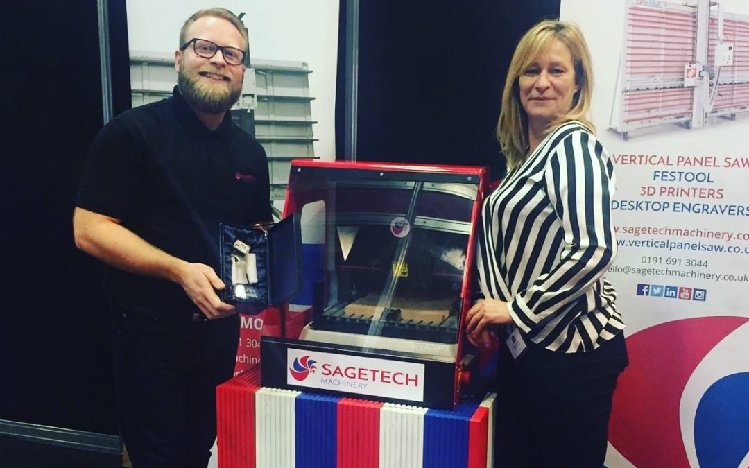 MEMBER NEWS: SAGETECH MACHINERY RECOGNISED FOR ENGRAVING EXPERTISE