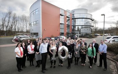 10TH BIRTHDAY FOR TANFIELD LEA BUSINESS CENTRE