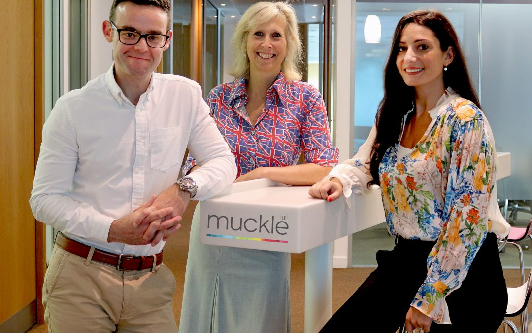 MEMBER NEWS: APPOINTMENTS FOR MUCKLE'S GROWING CONSTRUCTION TEAM