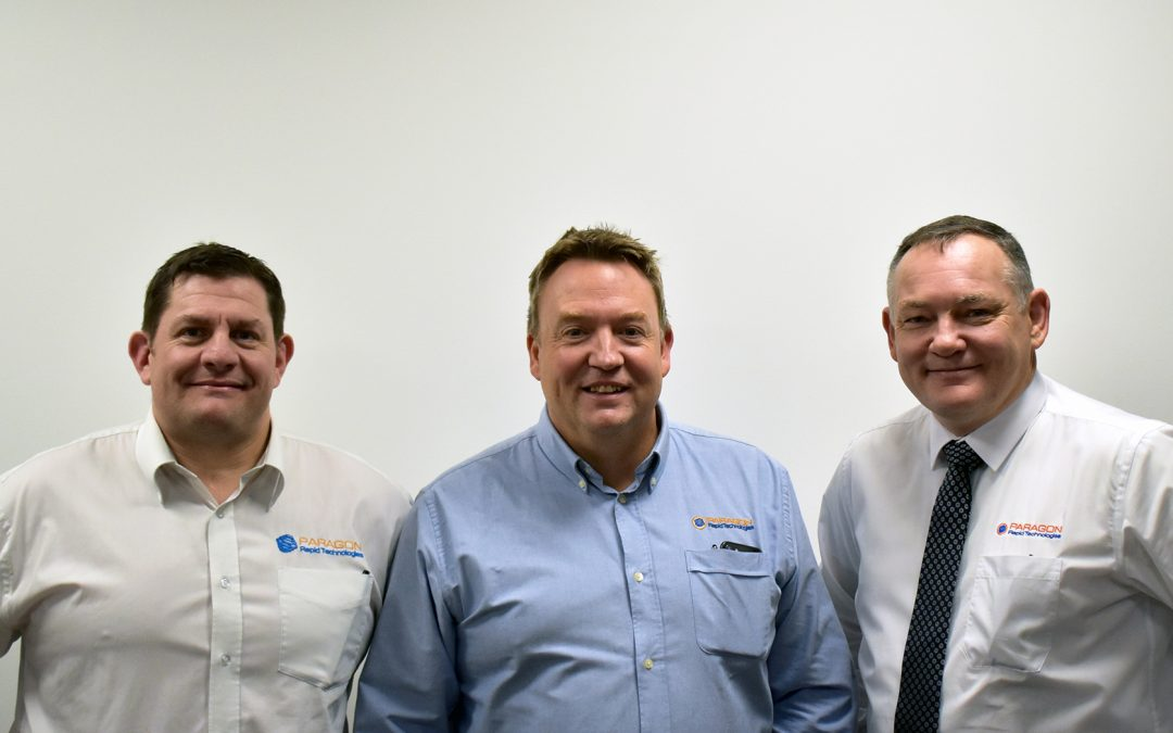 MEMBER NEWS: PARAGON RAPID TECHNOLOGIES ANNOUNCES NEW MD APPOINTMENT