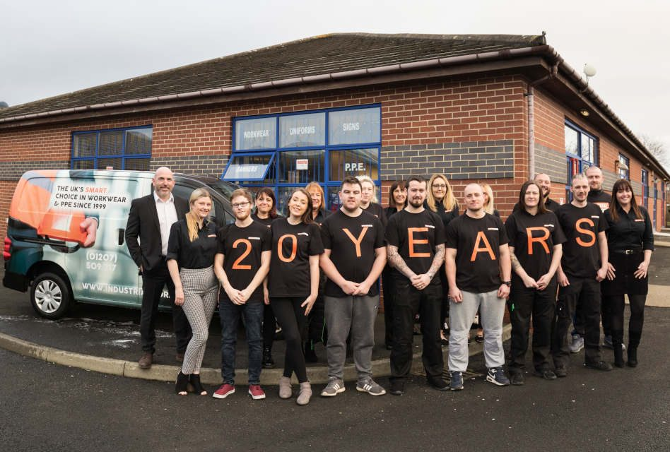 MEMBER NEWS: Industrial Workwear 'Earns' Half-a-million-pound sales boost.