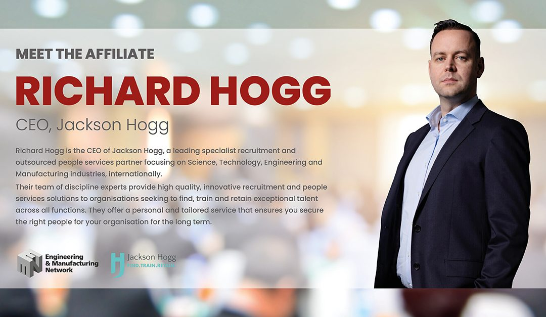 AFFILIATE NEWS: Meet The Affiliate,  Richard Hogg.