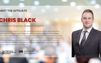 AFFILIATE NEWS: Meet Chris Black Divisional Director of Brewin Dolphin