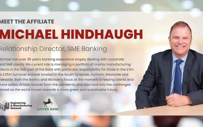 AFFILIATE NEWS: Meet Michael Hindhaugh Lloyds affiliate member.